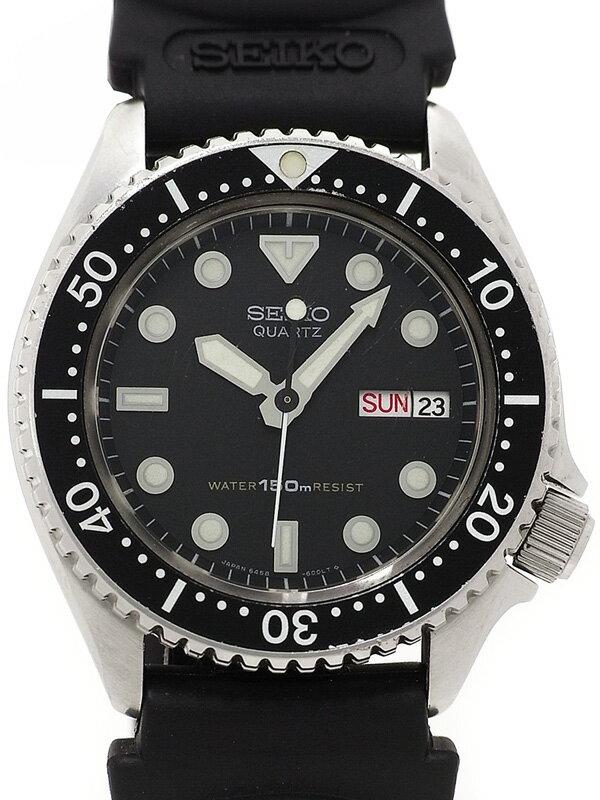 【SEIKO】セイコー『ダイバーズ』6458-6000 メンズ クォーツ 1週間保証【中古】