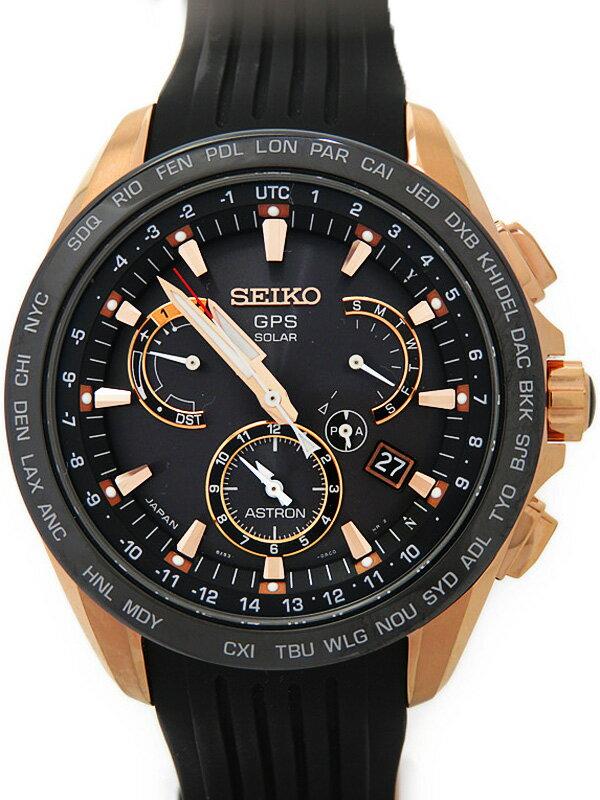 【SEIKO】【'16年購入】【美品】セイコー『アストロン』SBXB055 メンズ ソーラーGPS 1ヶ月保証【中古】