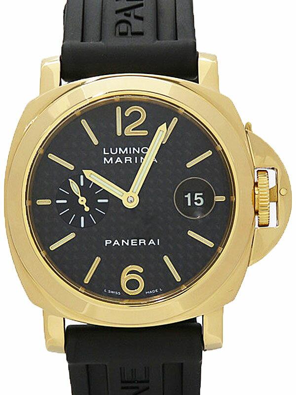 【PANERAI】【YGケース】パネライ『ルミノールマリーナ 44mm』PAM00140 G番'04年製 メンズ 自動巻き 6ヶ月保証【中古】