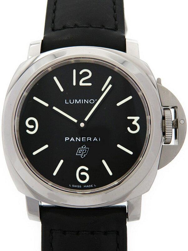 【PANERAI】パネライ『ルミノールベース ロゴ 44mm』PAM00000 O番'12年製 メンズ 手巻き 6ヶ月保証【中古】