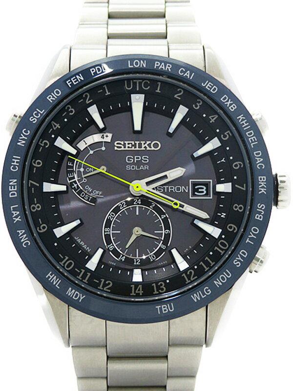 【SEIKO】【'15年購入】セイコー『アストロン』SAST023G メンズ ソーラーGPS 1ヶ月保証【中古】