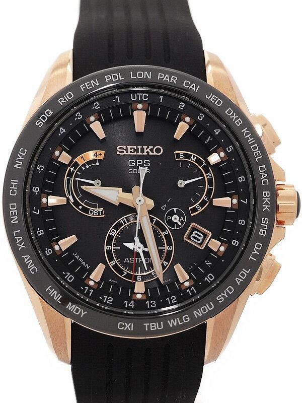 【SEIKO】【'16年購入】セイコー『アストロン』SBXB055 メンズ ソーラーGPS 1ヶ月保証【中古】