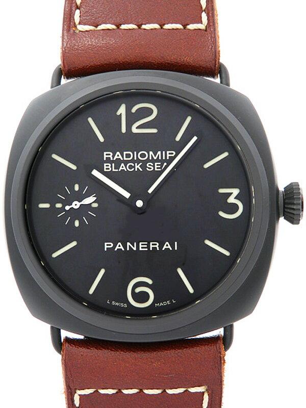 【PANERAI】パネライ『ラジオミール ブラックシール』PAM00292 K番'08年製 メンズ 手巻き 6ヶ月保証【中古】