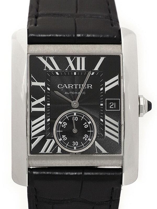 【CARTIER】【裏スケ】カルティエ『タンクMC LM』W5330004 メンズ 自動巻き 6ヶ月保証【中古】