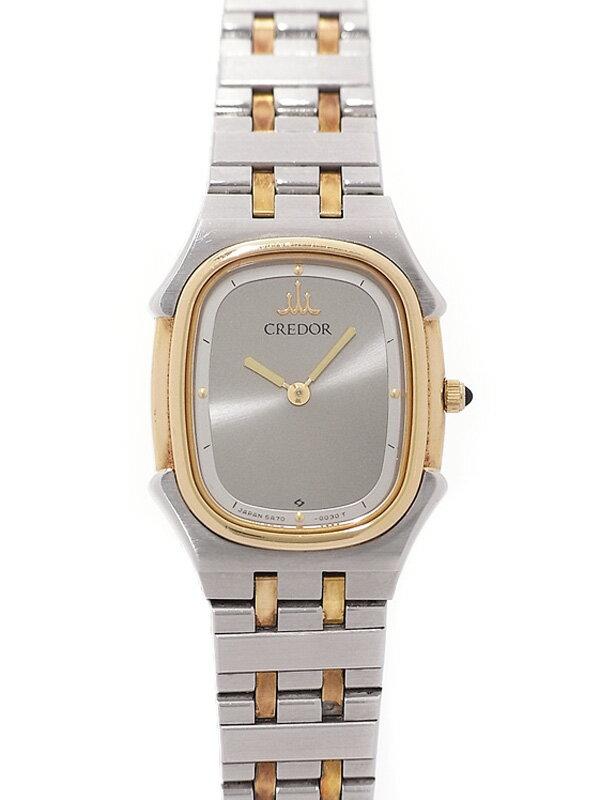 【SEIKO】【CREDOR】セイコー『クレドール』5A70-5010 レディース クォーツ 1週間保証【中古】