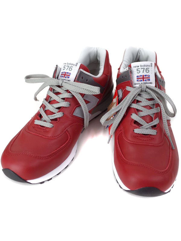 【New Balance】【made in England】ニューバランス『スニーカー size 27cm』M576RED メンズ 1週間保証【中古】