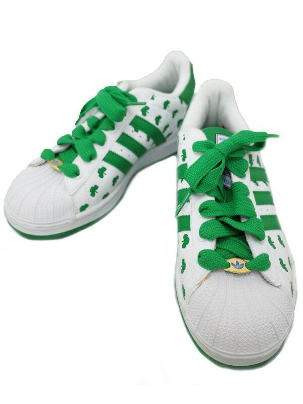 【adidas】アディダス『S35S BOSTON スーパースター Size 24cm』114191 メンズ スニーカー 1週間保証【中古】