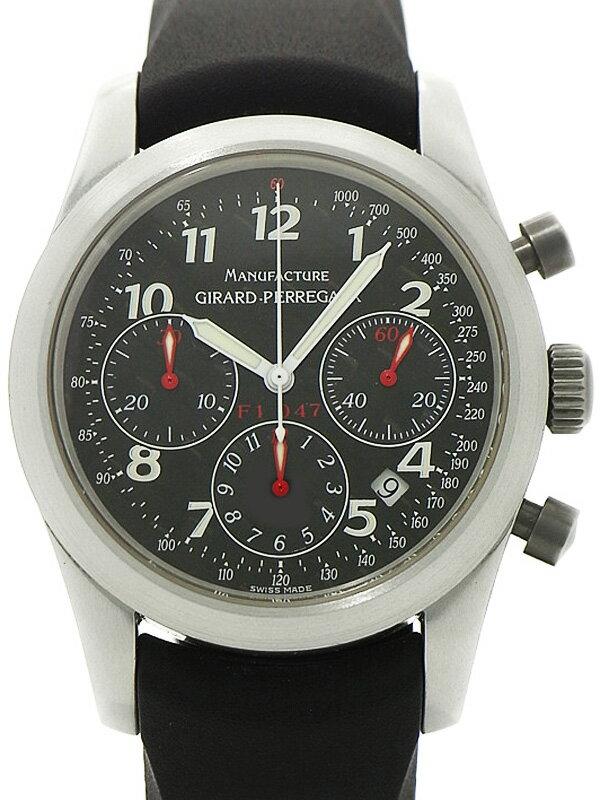 【GIRARD-PERREGAUX】【OH済】ジラールペルゴ『フェラーリ F1 047 クロノグラフ』4955 メンズ 自動巻き 3ヶ月保証【中古】