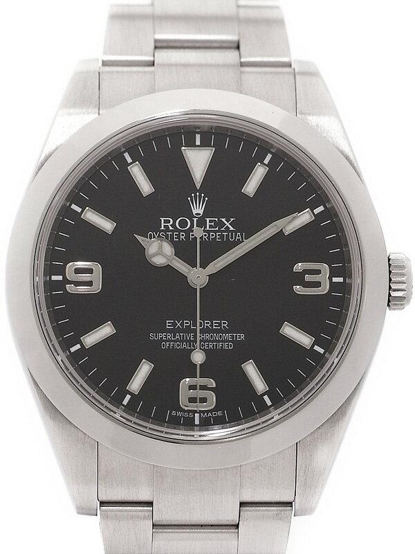 【ROLEX】【'11年購入】ロレックス『エクスプローラー1』214270 ランダム番 メンズ 自動巻き 12ヶ月保証【中古】