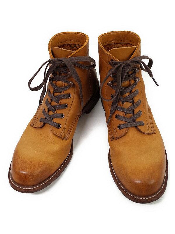 【WOLVERINE】【底張り済】ウルヴァリン『1000マイルブーツ size 25.5cm』W05848 メンズ 1週間保証【中古】