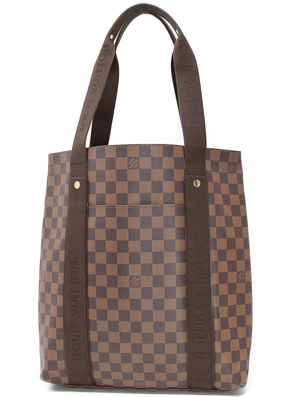 【LOUIS VUITTON】ルイヴィトン『ダミエ ボブール』N52006 メンズ トートバッグ 1週間保証【中古】