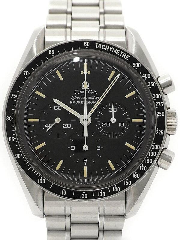 【OMEGA】【裏スケ】【アポロ11号月面着陸10周年記念】【OH済】オメガ『スピードマスター プロフェッショナル』3592.50 メンズ 手巻き 3ヶ月保証【中古】