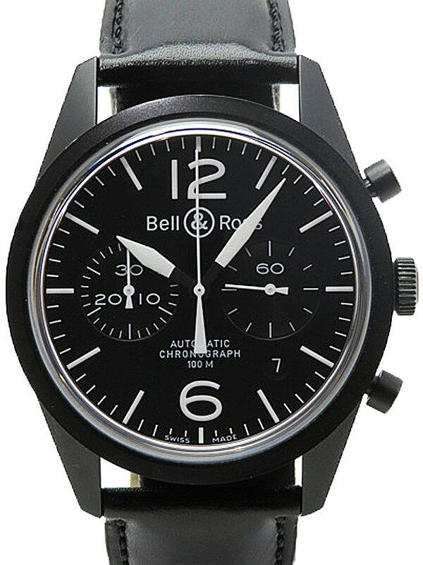 【Bell&Ross】ベル&ロス『ヴィンテージ オリジナル』BR126 メンズ 自動巻き 3ヶ月保証【中古】