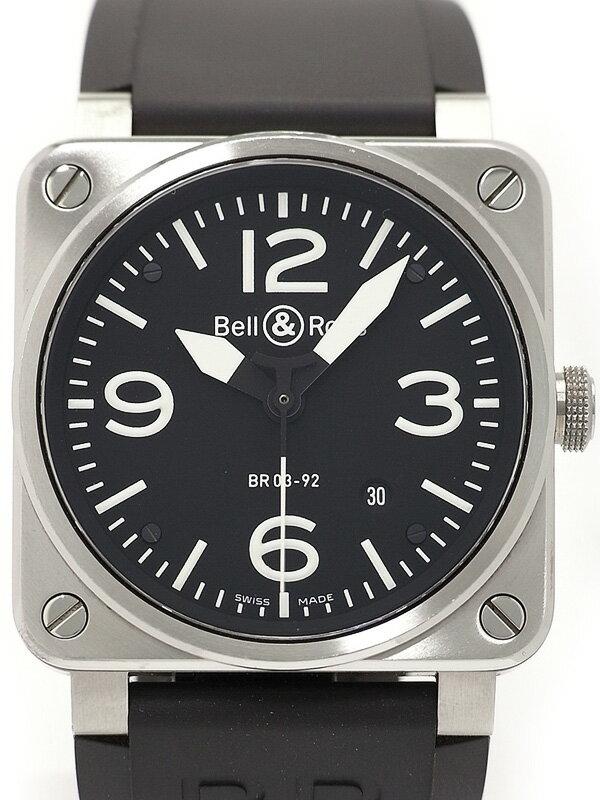 【Bell&Ross】ベル&ロス『アビエーション』BR03-92 メンズ 自動巻き 3ヶ月保証【中古】