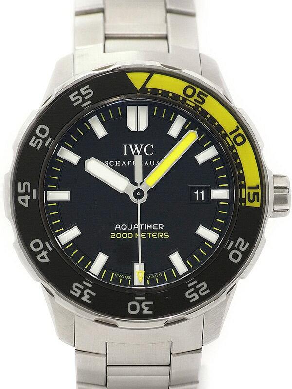 【IWC】インターナショナルウォッチカンパニー『アクアタイマー オートマティック』IW356808 メンズ 自動巻き 3ヶ月保証【中古】