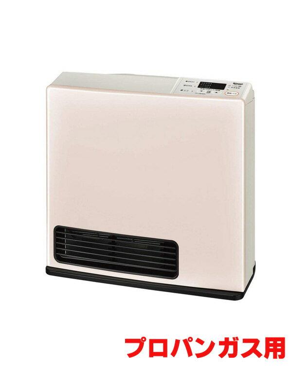リンナイ『ガスファンヒーター』SRC-364E LPG パステルローズ プロパンガス用 〜15畳 室温調節【新品】
