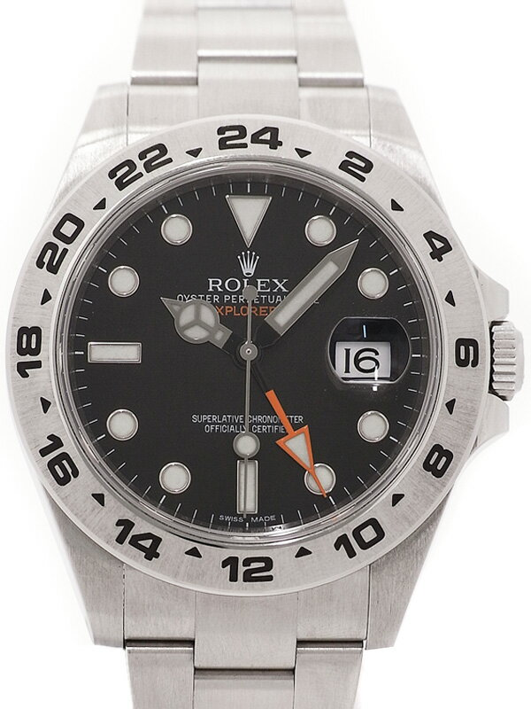 【ROLEX】ロレックス『エクスプローラー2』216570 ランダム番 メンズ 自動巻き 12ヶ月保証【中古】