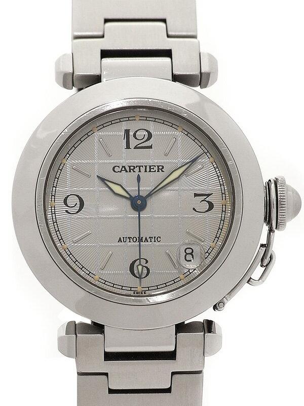 【CARTIER】カルティエ『パシャC』W31023M7 ボーイズ 自動巻き 3ヶ月保証【中古】
