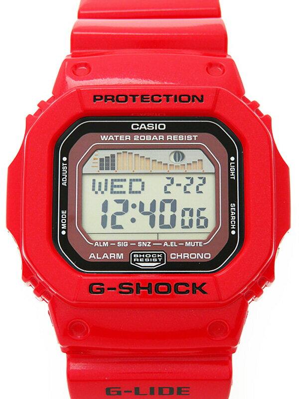 【CASIO】【G-SHOCK】【美品】カシオ『Gショック Gライド』GLX-5600-4JF ボーイズ クォーツ 1週間保証【中古】