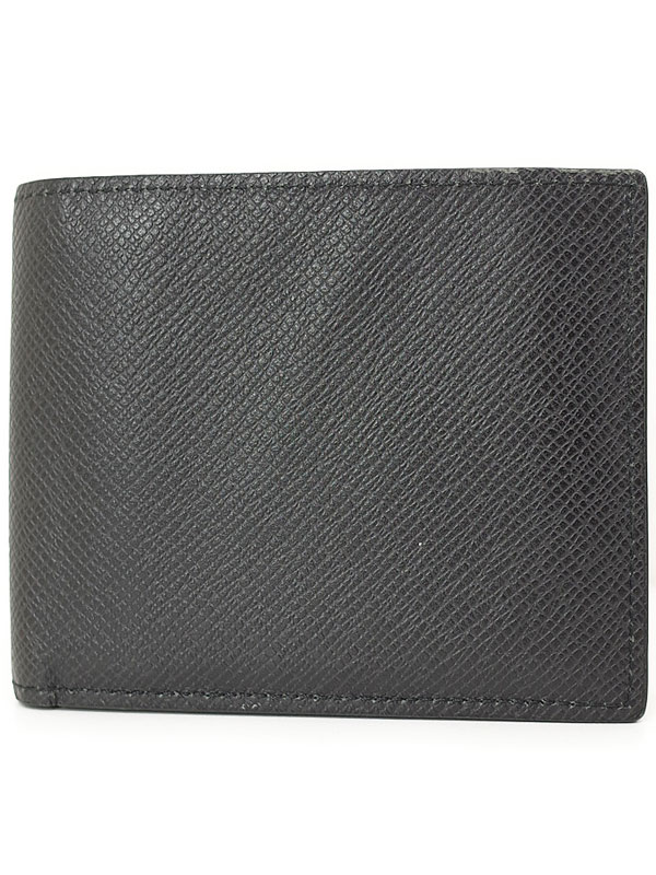 【LOUIS VUITTON】ルイヴィトン『タイガ ポルトフォイユ アメリゴ』M42100 メンズ 二つ折り短財布 1週間保証【中古】