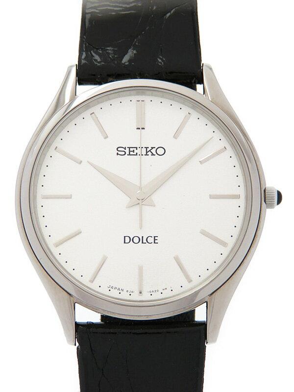 【SEIKO】【美品】セイコー『ドルチェ』SACM171 メンズ クォーツ 1週間保証【中古】