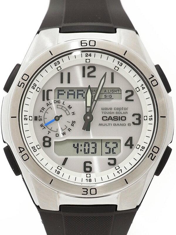 【CASIO】カシオ『ウェーブセプター』WVA-M650-7AJF メンズ ソーラー電波クォーツ 1週間保証【中古】