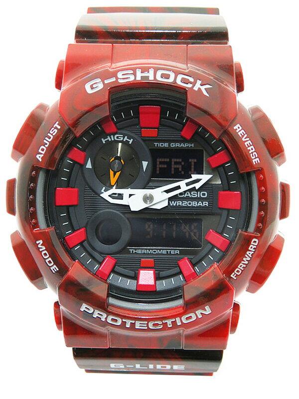 【CASIO】【G-SHOCK】カシオ『Gショック Gライド』GAX-100MB-4AJF メンズ クォーツ 1週間保証【中古】