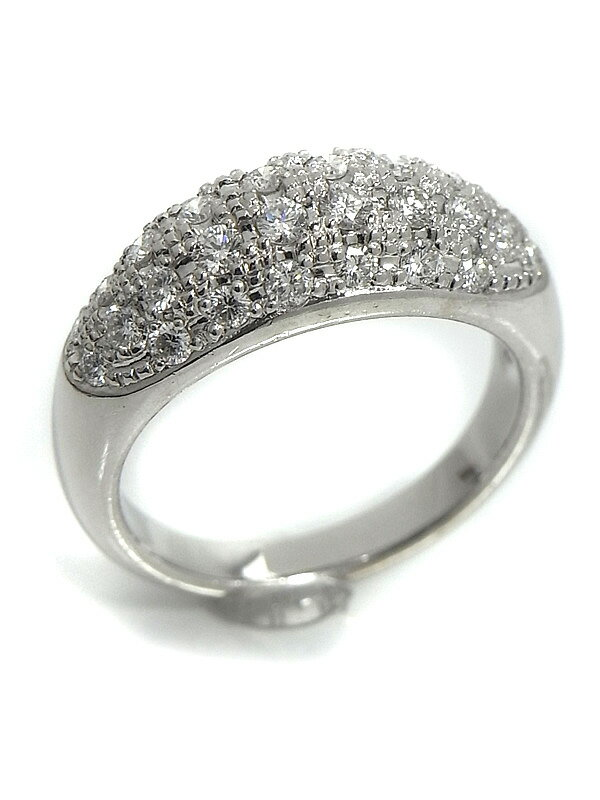 【TASAKI】タサキ『PT900リング ダイヤモンド0.72ct』11.5号 1週間保証【中古】