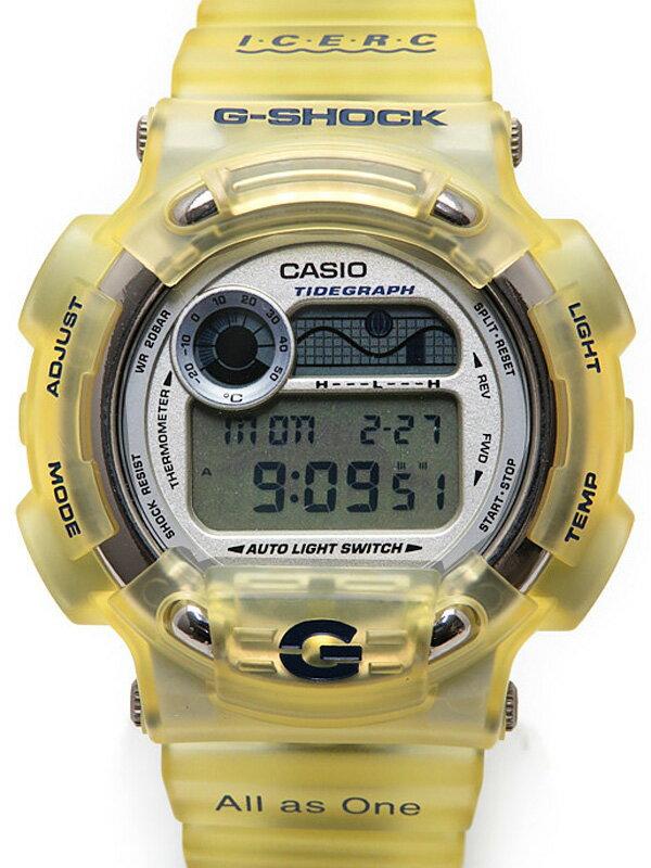【CASIO】【G-SHOCK】【イルクジモデル】【電池交換済】カシオ『Gショック イルカクジラモデル』DW-8600K-2T メンズ クォーツ 1週間保証【中古】