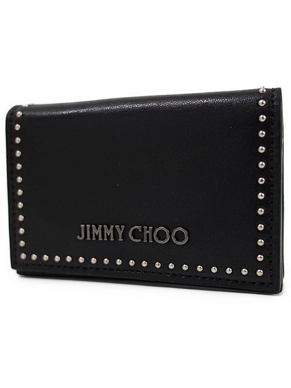 【Jimmy Choo】ジミーチュウ『BEL SIZE カードケース』メンズ 1週間保証【中古】