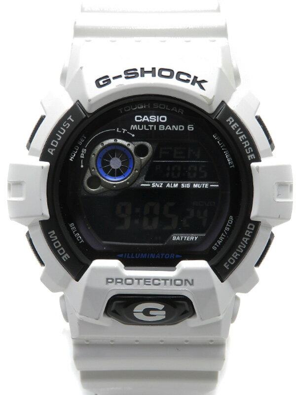 【CASIO】【G-SHOCK】カシオ『Gショック』GW-8900A-7JF メンズ ソーラー電波クォーツ 1週間保証【中古】