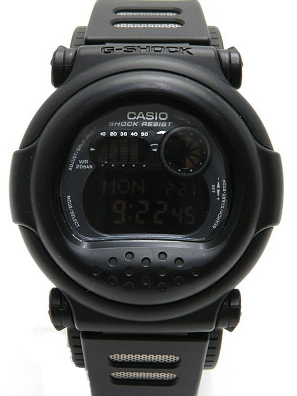 【CASIO】【G-SHOCK】カシオ『Gショック』G-001-1AJF メンズ クォーツ 1週間保証【中古】