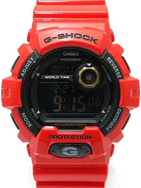 【CASIO】【G-SHOCK】【海外モデル】カシオ『Gショック』G-8900A-4DR メンズ クォーツ 1週間保証【中古】