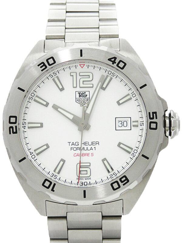 【TAG Heuer】タグホイヤー『フォーミュラ1 キャリバー5』WAZ2114.BA0875 メンズ 自動巻き 3ヶ月保証【中古】