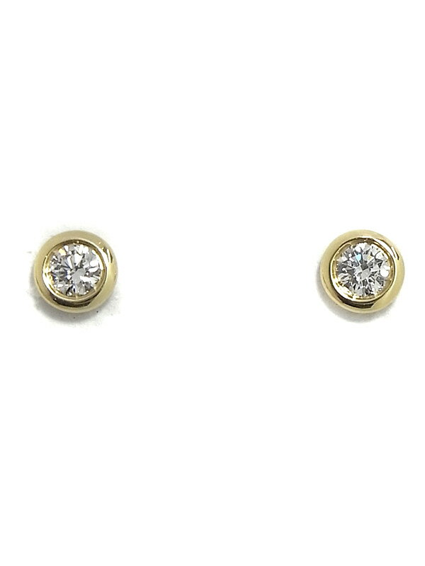 【TIFFANY&Co.】ティファニー『バイザヤード ダイヤモンド ピアス』1週間保証【中古】