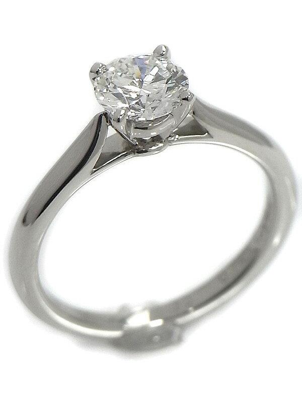 【Cartier】【MKコーフィル】【仕上済】カルティエ『ソリテール ダイヤモンド0.74ct リング』10号 1週間保証【中古】