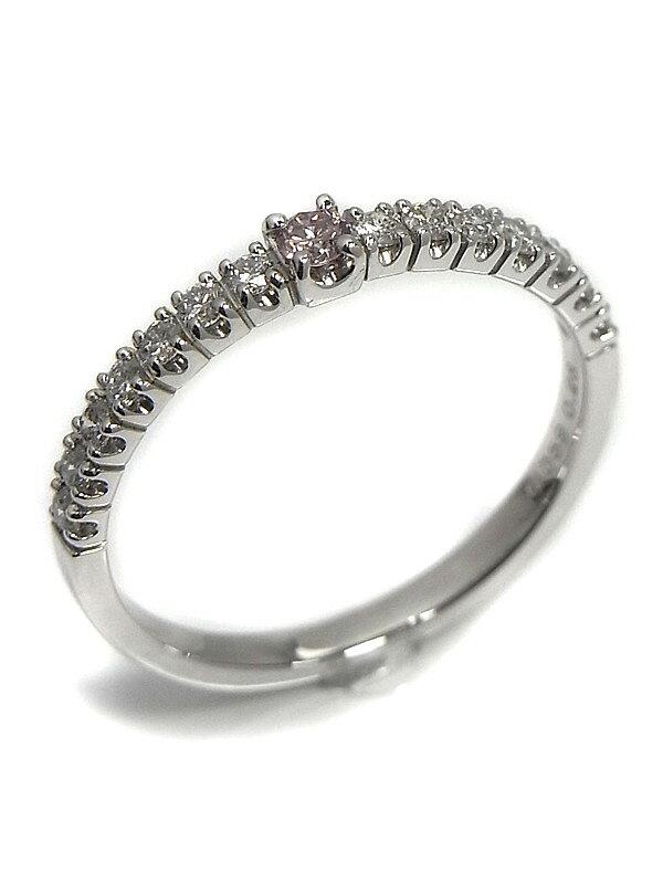 セレクトジュエリー『PT900リング ダイヤモンド0.059ct 0.26ct』13号 1週間保証【中古】