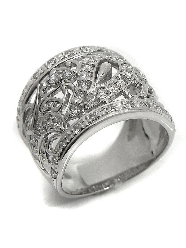 セレクトジュエリー『PT900リング ダイヤモンド1.01ct』13号 1週間保証【中古】