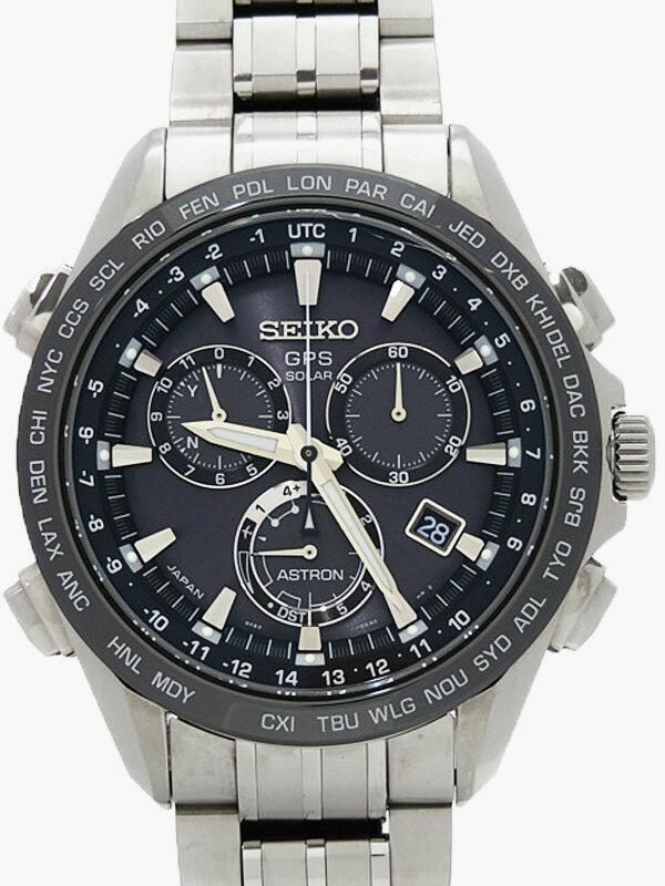 【SEIKO】【'15年購入】セイコー『アストロン』SBXB003 メンズ ソーラーGPS 3ヶ月保証【中古】