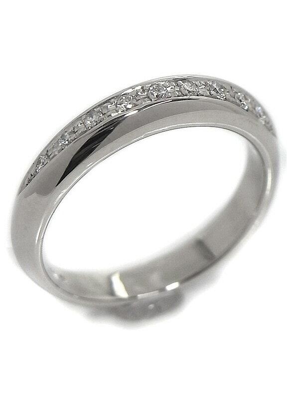 【TASAKI】【仕上済】タサキ『PT900リング ダイヤモンド0.08ct』10.5号 1週間保証【中古】
