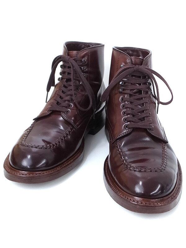 【ALDEN】【底張り済】オールデン『コードヴァン タンカー ブーツ size 8 1/2』40538H メンズ 1週間保証【中古】