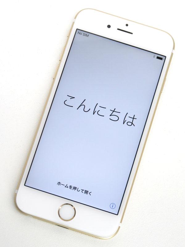 【Apple】アップル『iPhone 6s 64GB au』MKQQ2J/A ゴールド iOS10.2.1 4.7型 白ロム ○判定 スマートフォン【中古】