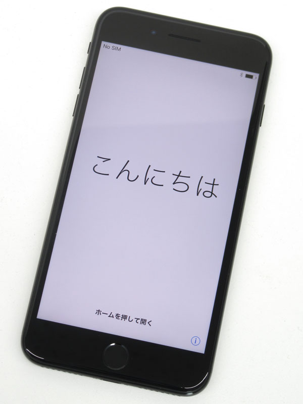 【Apple】アップル『iPhone 7 Plus 128GB SoftBank』MN6K2J/A ジェットブラック iOS10.2.1 5.5型 白ロム ○判定 スマートフォン【中古】