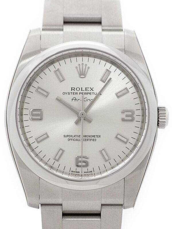 【ROLEX】【'14年購入】ロレックス『エアキング』114200 ランダム番 メンズ 自動巻き 12ヶ月保証【中古】