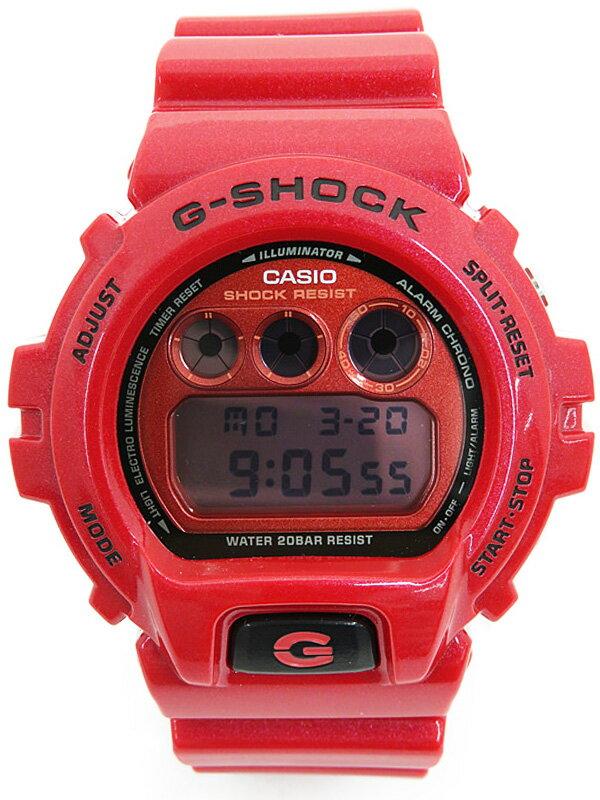 【CASIO】【G-SHOCK】カシオ『Gショック メタリックダイアルシリーズ』DW-6900MF-4JF メンズ ソーラー電波クォーツ 1週間保証【中古】