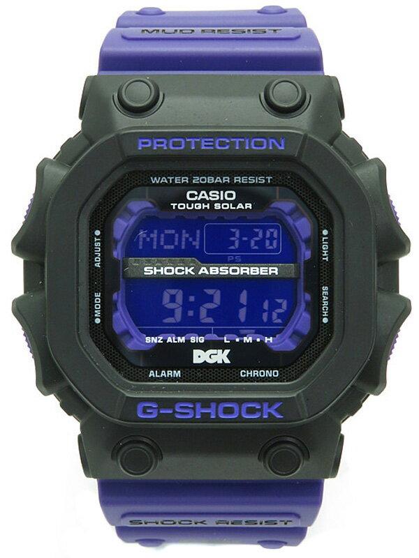 【CASIO】【G-SHOCK】カシオ『Gショック DGKコラボモデル』GX-56DGK-1JR メンズ ソーラークォーツ 1ヶ月保証【中古】