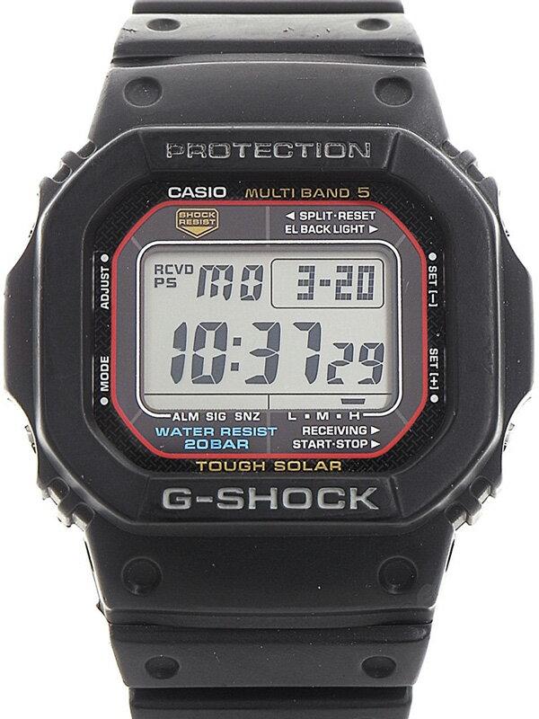 【CASIO】【G-SHOCK】カシオ『Gショック』GW-M5600-1JF ボーイズ ソーラー電波クォーツ 1週間保証【中古】