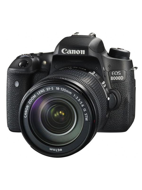 【Canon】キヤノン『EOS 8000D EF-S18-135 IS STM レンズキット』EOS8000D(W) デジタル一眼レフカメラ 1週間保証【中古】