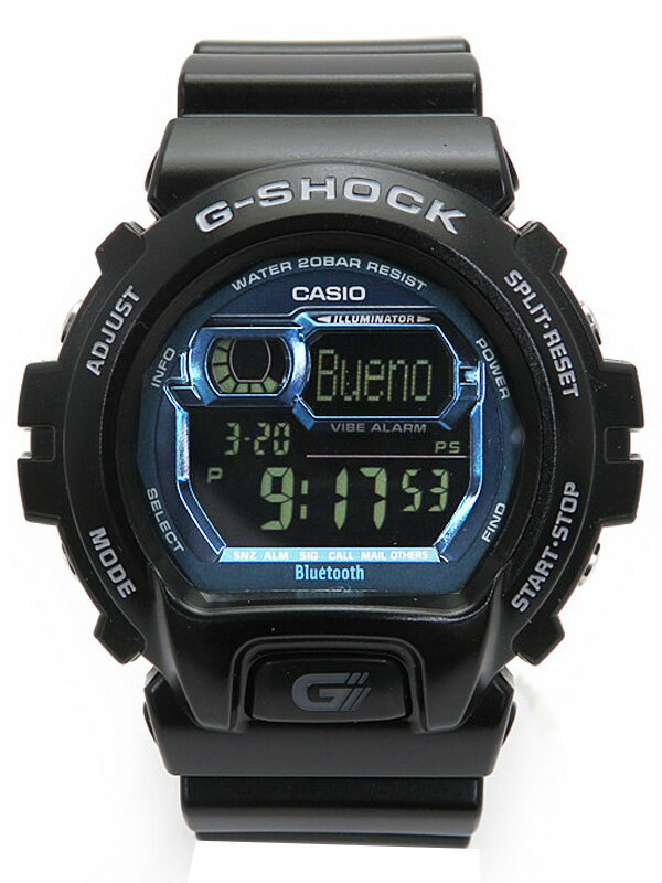 【CASIO】【G-SHOCK】【美品】カシオ『Gショック Bluetooth』GB-6900B-1BJF メンズ クォーツ 1週間保証【中古】