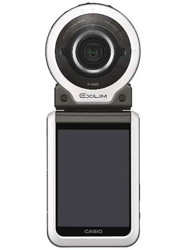 【CASIO】カシオ『EXILIM(エクシリム)』EX-FR100WE ホワイト 1020万画素  無線LAN デジタルカメラ【中古】
